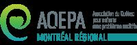 Logo de l'Association du Québec pour enfants avec problèmes auditifs : A.Q.E.P.A Montréal Régional