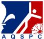 Logo de lL'Association québécoise de sports pour paralytiques cérébraux.