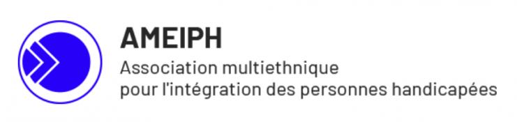 Logo de l'Association multiethnique pour l'intégration des personnes handicapées.