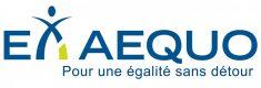 Logo Ex aequo : pour une égalité sans détour.